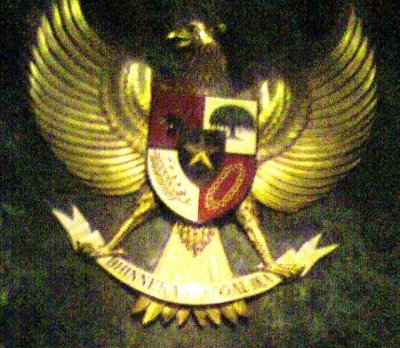 """...Lambang Negara Garuda Pancasila..."" Photo By : Red NRMnews.com"