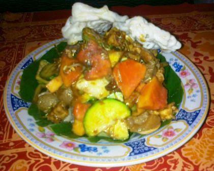 Rujak Cingur Makanan Khas Jawa Timur Penantra News Com