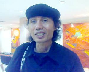 """..Romo I. Sandyawan Sumardi dari komunitas Ciliwung Merdeka..."" Photo By : Red NRMnews.com"