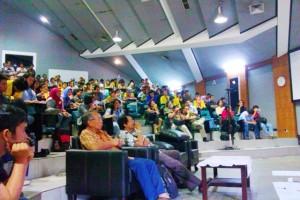 """""""...Ilustrasi Kegiatan Kuliah Umum Mahasiswa...."""" Photo By : Red NRMnews.com"""