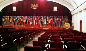 """...Ruang Sidang Museum Konferensi Asia Afrika di Gedung Merdeka Bandung...""  Photo By : Red. NRMnews.com"