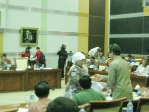 """...Ilustrasi Suasana Jalanya Rapat Kerja DPR RI..."" Photo By : Red NRMnews.com"