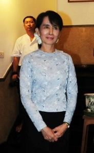 """...Mrs.Aung San Suu Kyi Pemimpin Oposisi Myanmar..."""