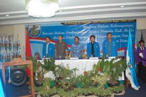 """""""...Jajaran Pengurus DPD KNPI Bogor Berbagai Elemen Organisasi Pemuda di Kabupaten Bogor..."""" Photo By : Red.NRMnews.com"""