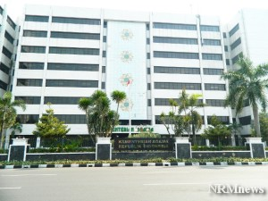 """...Kantor Kementerian Agama Republik Indonesia di Jakarta..."" Photo By : Red NRMnews.com"