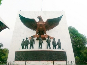 """...Tugu Monument Pancasila Sakti...""Photo By : Red NRMnews.com"