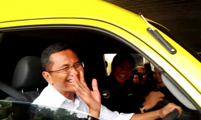 """...Meneg BUMN Dahlan Iskan..."" Photo By : Red NRMnews.com"