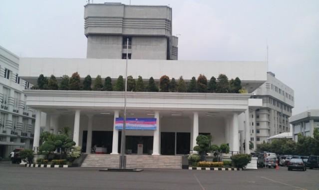 """...Gedung Kementrian Pertahanan RI di Jakarta..."" Foto By : Red NRMnews.com"