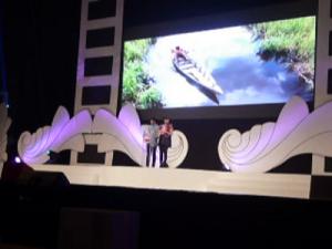 """""""...Ilustrasi Pembacaan Nominasi dan Pemenang Festival Film..."""" Photo By : Red.NRMnews.com"""