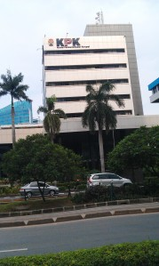 """...Gedung Kantor KPK, Jalan Rasuna Sahid, Jakarta..."" Photo By : Red NRMnews.com"