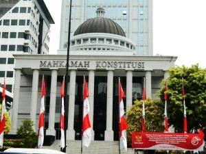"""...Gedung Kantor Mahkamah Konstitusi di Jakarta..."" Photo By : Red NRMnews.com"