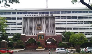 """...Gedung Kantor Kejaksaan Agung RI di Jakarta..."" Photo By : Red NRMnews.com"
