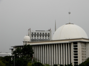 """...Mesjid Istiqlal Jakarta... "" Photo By : Red NRMnews.com"