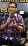 """...Wakil Menteri Koordinator Bidang Hukum dan HAM, Denny Indrayana..."" Photo By : Red NRMnews.com"
