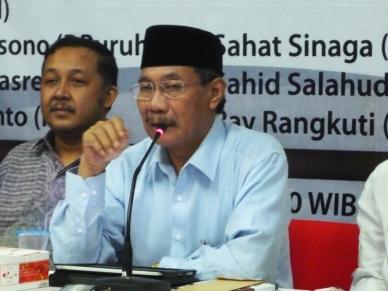 """...KH.Khorul Anam,Ketua PKNU dan Penulis Buku Skandal Imam Bonjol..."" Foto By : Red NRMnews.com"