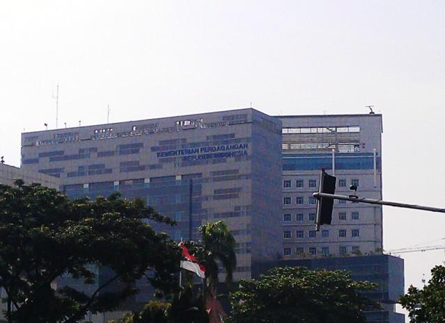 """...Gedung Kantor Kementerian Perdagangan Republik Indonesia, di Jakarta..."" Photo By : Red NRMnews.com"