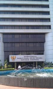 """...Gedung Kantor Kementerian BUMN RI, di Jakarta..."" Photo By : Red NRMnews.com"
