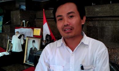 """""""...Ketua DPP Muamar Tri Joko Susilo..."""" Foto By :Red NRMnews.com"""