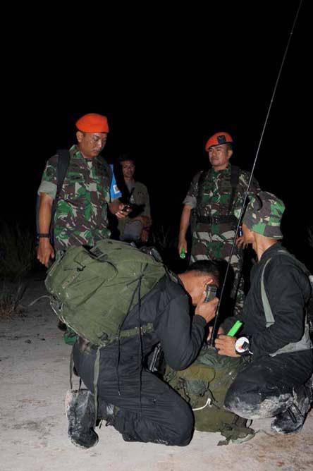 """""""...Latgab TNI 2013 di Sangatta, Kalimantan timur..."""" Photo by : Puspen TNI"""