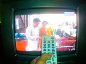 """...Ilustrasi Siaran Televisi..."" Photo By ; Red NRMnews.com"
