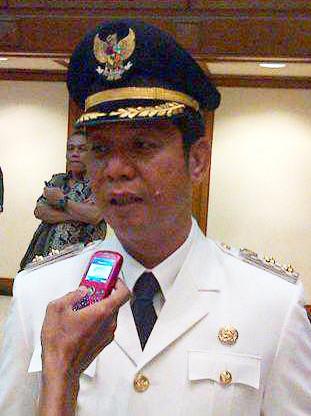 """...Wakil Walikota Jakarta Selatan, Rustam Effendi ..."" Photo By : Red NRMnews.com"