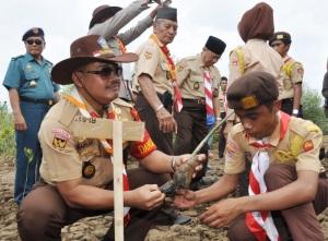 """""""...Ilustrasi Pelajar Sekoah di NTT..."""" Photo By : Puspen TNI"""