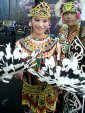 """...Ilustrasi Pakaian Adat Tradisional Suku Dayak Kalimantan..."" Photo By : Red.NRMnews.com"