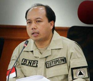 """...DR.Sutopo Purwo Nugroho, Kepala Pusat Data Informasi dan Humas BNPB..."" Photo By : Red. NRMnews.com"