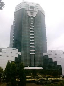 """...Gedung Kantor Kemenparekraf RI, Jakarta..."" Photo By : Red. NRMnews.com"
