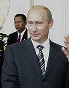 """...Presiden Federasi Rusia, Vladimir.V Putin..."""