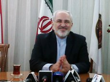 """...Menteri Luar Negeri Iran Dr. Mohammad Javad Zarif..."" Photo By : Red. NRMnews.com"