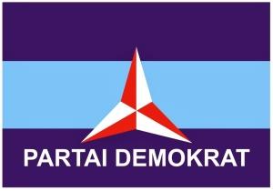 """""""...Ilustrasi Bendera Partai Demokrat..."""""""
