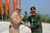 """...Komandan NETSAFA Tinjau Latihan GPOI di PMPP TNI..."" Photo By : Puspen TNI"