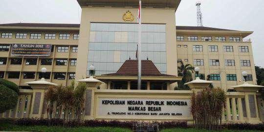 """...Ilustrasi Gedung Kantor Markas Besar Kepolisian Republik Indonesia..."""