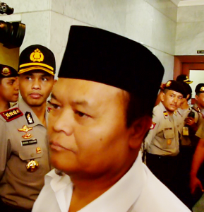 """...Politikus PKS, Hidayat Nurwahid..."" Photo By : Red. NRMnews.com"