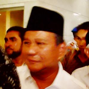 """...Ketua Umum Partai Gerindra, Prabowo Subiyanto..."" Photo By : Red. NRMnews.com"