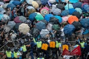 """""""...Ilustrasi Aksi Demonstrasi Menentang Kebijakan Rezim Komunis Tiongkok di Hongkong..."""""""
