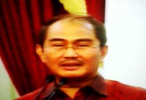"""""""...Jimly Asshidiqqie, Ketua DKPP..."""" Photo By : Red. NRMnews.com"""
