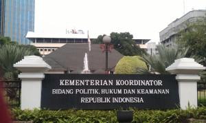 """""""...Ilustrasi Gedung Kantor Menteri Koordinator Politik Hukum dan Keamanan (Menkopolhukam) di Jakarta..."""" Photo By. Red. NRMnews.com"""