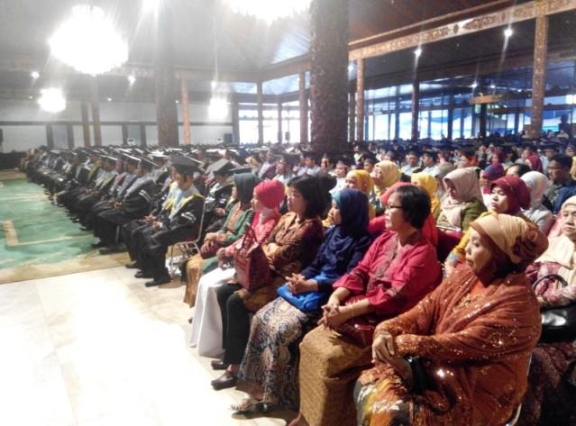 """...Wisuda Sarjana dan Pasca Sarjana Universitas Indraprasta PGRI..."" Photo By : Red NRMnews.com"