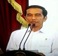 """...Presiden Joko Widodo saat Menyampaikan Keterangan Pers di Istana Negara Jakarta..."" Photo By : Red. NRMnews.com"