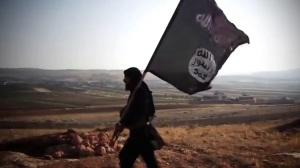 """""""...Ilustrasi Bendera ISIS dan Pendukung salah satu aliran radikal.."""""""