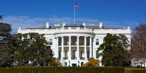 """...Ilustrasi Gedung Putih, Washington, Amerika Serikat sebagai pusat pemerintahan Amerika Serikat..."""