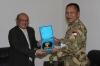 """...Pertemuan Komandan Batalyon Indonesia dengan Duta Besar RI Untuk Sudan..."" Photo By : Puspen TNI"