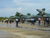 """""""...Pesawat Tempur F-16 Bersiaga di Lanud Tarakan Untuk Patroli di Ambalat..."""" Photo By : Red NRMnews.com"""