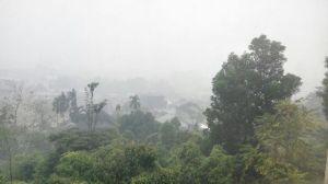 """""""...Ilustrasi Wilayah Terdampak Kabut Asap Kebakaran Hutan..."""" Photo By : Red. NRMnews.com"""