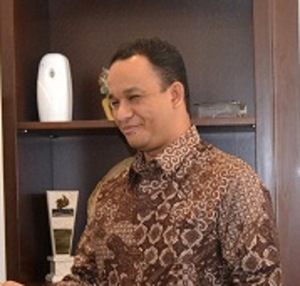 """...Anis Baswedan..."" Photo By : Red.NRMnews.com"