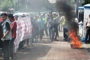 """...Ilustrasi Demonstrasi Mahasiswa..."" Photo By : Red.NRMnews.com"