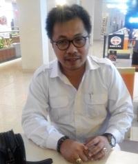 """...Kadepr DPP Gerindra Yakar Hondro..."" Photo By : Red NRMnews.com"