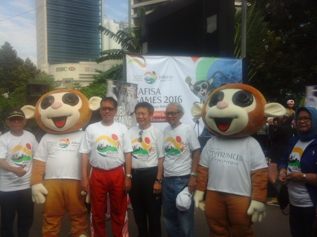 """...Suasana Roadshow TAFISA World Games 2016 di sela CFD ..."""